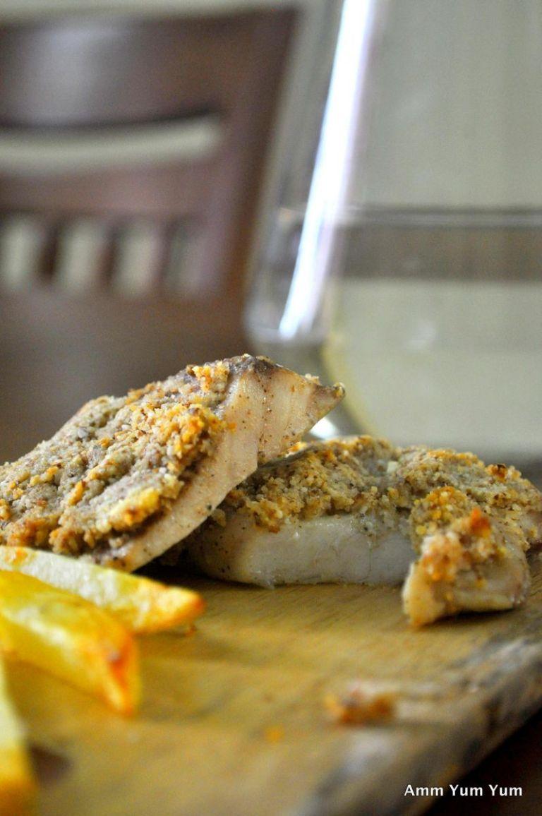 Baked Fish Almondine