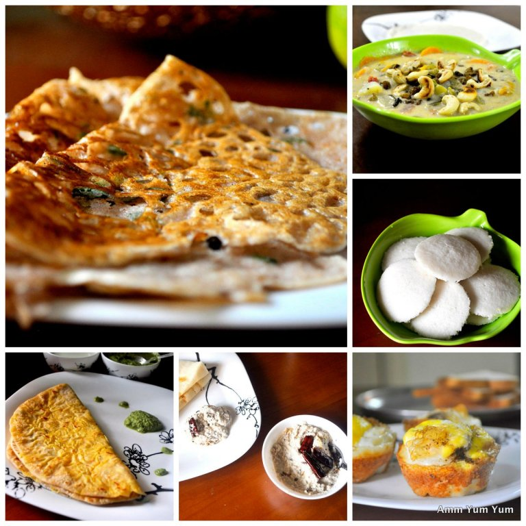 Breakfast Ideas for a Week