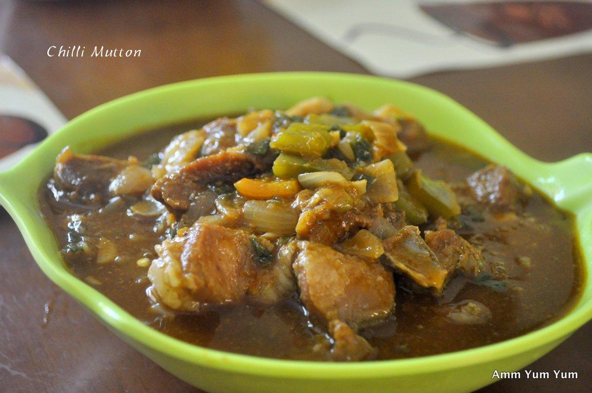Chinese Chilli Mutton
