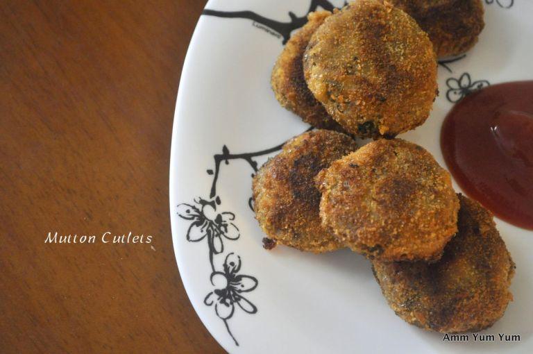 Kerala style mutton cutlet